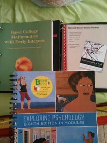 $95 OBO College Books