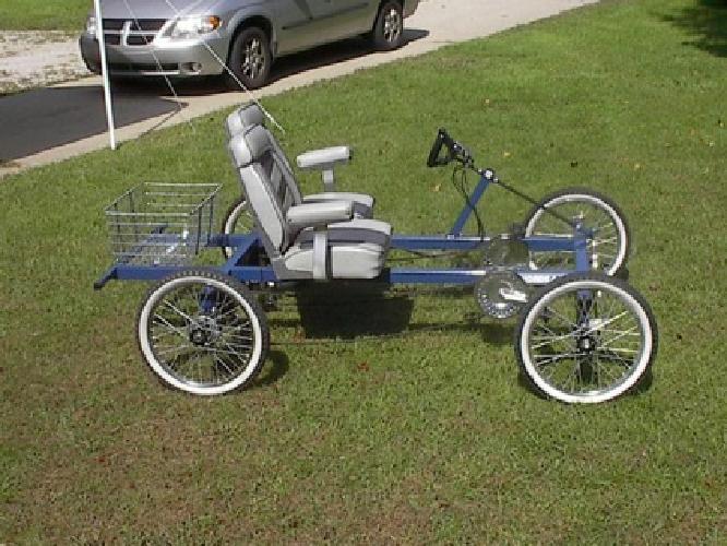 $975 2 Seat Rhoades Car 4 Wheel Bike
