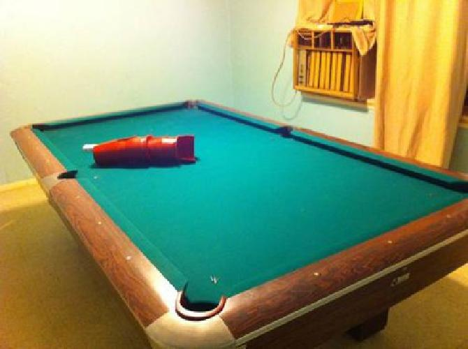 Ft Topline Pro Pool Table For Sale In Oklahoma City - Topline pool table