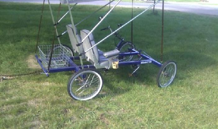 $975 OBO 2 Seat Rhoades Car 4 Wheel Bike
