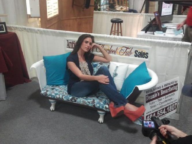 $999 Antique Clawfoot & Pedestal Tubs, Furniture