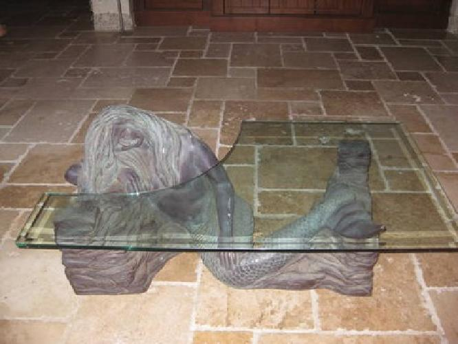 999 mermaid glass coffee table for sale in naples florida classified Mermaid coffee table