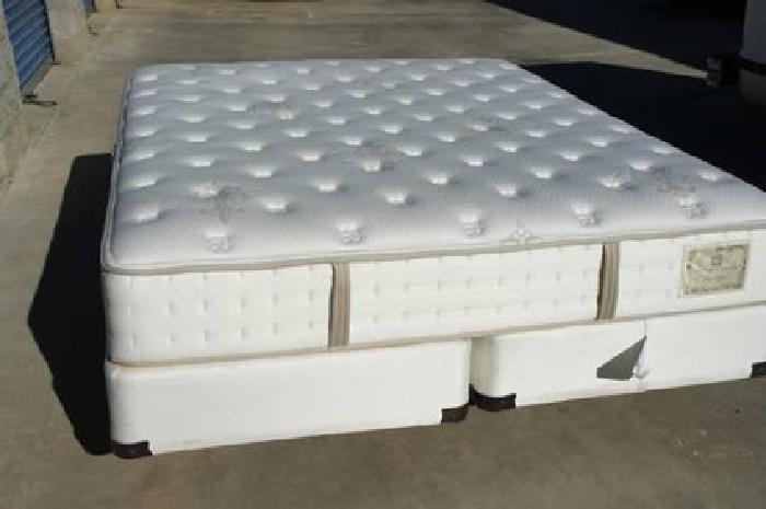 999 new stearns and foster bradenburg cal king mattress California king box spring