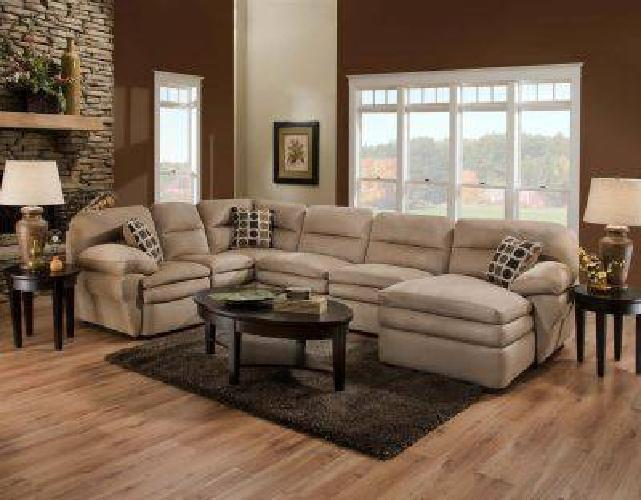 $999 NEW TAN SECTIONAL (normal)