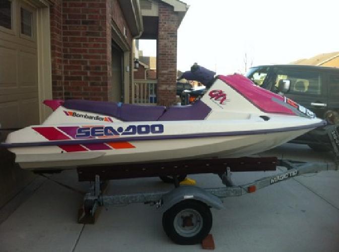 $999 OBO 1993 SeaDoo GTX (with trailer)