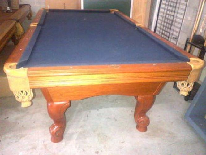 $999 Used Pool Table Miami, Leisure Bay 8u0027 Pool Table, Delivery Available!