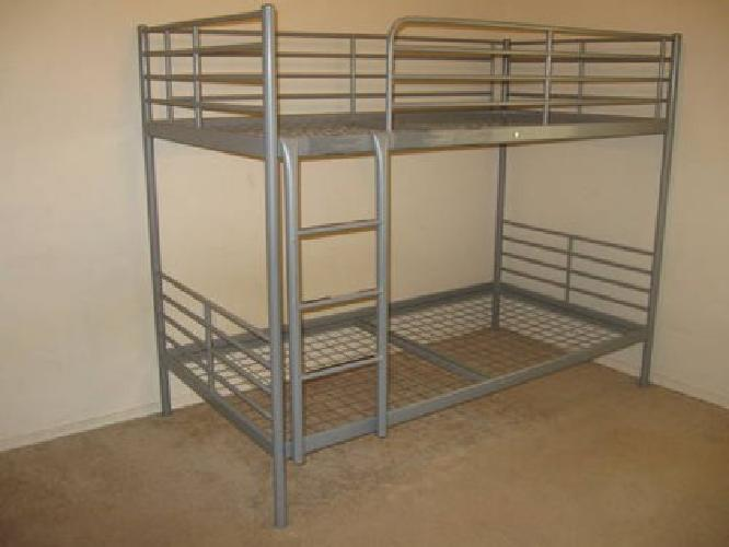 99 Ikea Tromso Bunk Bed Silver Very Study With