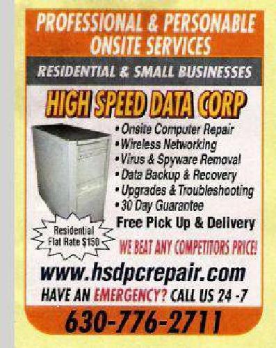 $99 Onsite Computer Repair