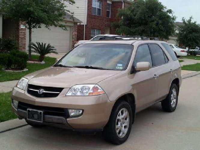 Acura   Sale on Acura Mdx 4wd 1 Owner Excellent Condition  Touring Package For Sale