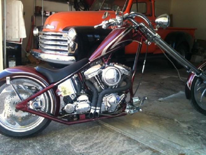 $9,200 2005 Ultima 100 Factory Chopper *Revtech 100 Engine*240mm Rear Tire*6' Forks*Bea