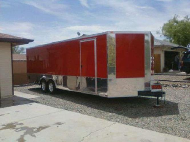 9 450 2012 Enclosed Car Hauler For Sale In Bakersfield
