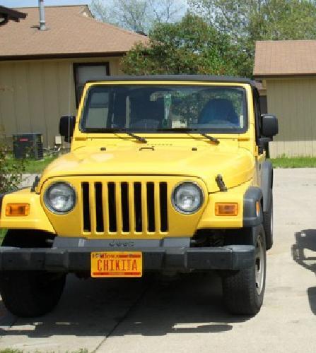 9 500 2005 jeep wrangler se soft top for sale in omaha nebraska classified. Black Bedroom Furniture Sets. Home Design Ideas