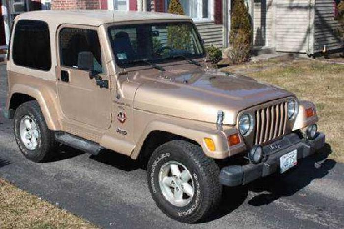 9 800 1999 jeep wrangler sahara for sale in wakefield rhode island classified. Black Bedroom Furniture Sets. Home Design Ideas