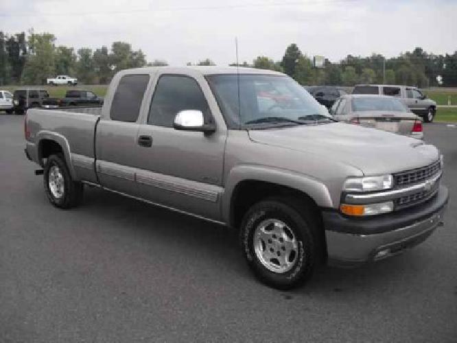 9 950 used 2002 chevrolet silverado 1500 for sale for sale in mayfield kentucky classified. Black Bedroom Furniture Sets. Home Design Ideas