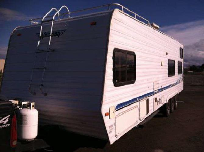 9 995 cheap toy hauler 30 ft weekend warrior for