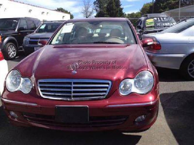 9 995 used 2005 mercedes benz c class c240 4matic awd for Mercedes benz service union nj