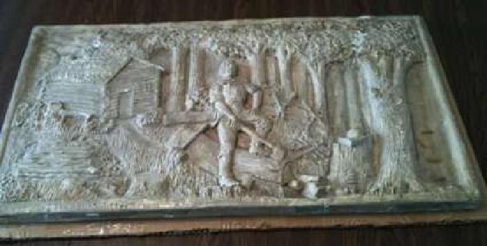 Abraham Lincoln Rare Print Piece of History Unusual