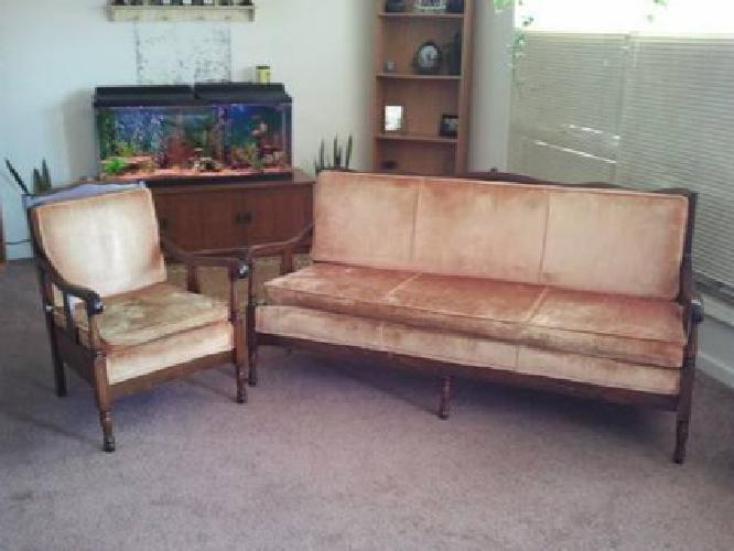 Antique Couch And Chair For Sale In Wichita Kansas