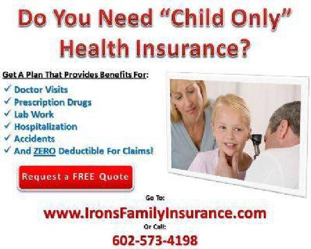 Arizona Child Only Health Insurance