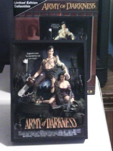 Army of Darkness statue