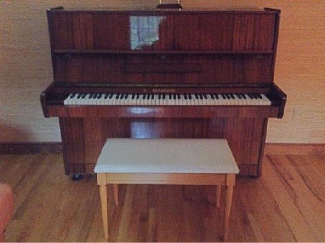 Authentic Russian Piano & Piano Bench