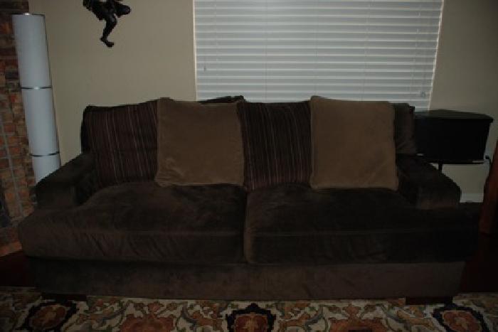 Beautiful Ashley furniture sofa loveseat ottoman