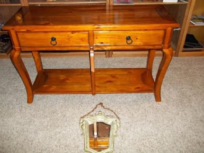 Beautiful Sofa Table Amp Mirror For Sale In Wichita Kansas