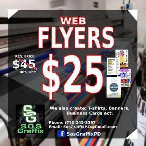 Big SALE on WEB FLYERS