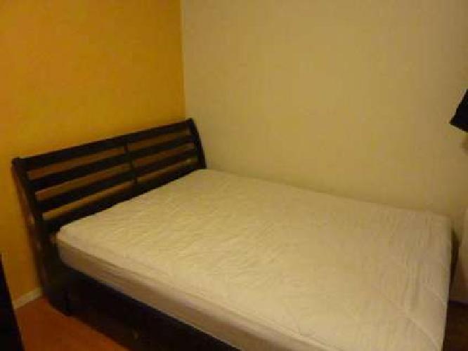 Black 4-piece bedroom furniture set