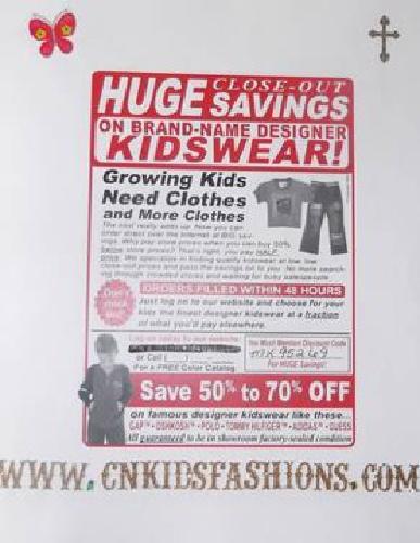 Brand Name Kids Clothing