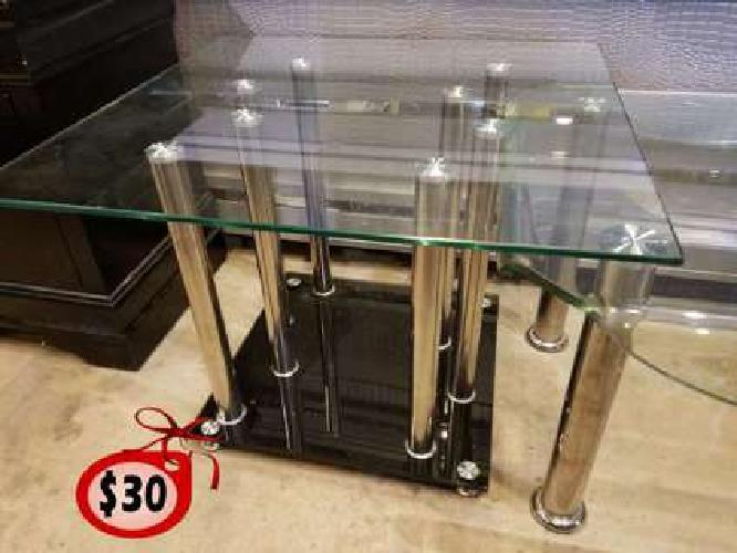 Brand New Glass Table