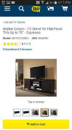 Brand new in box tv stand 70 inch! Gorgeous