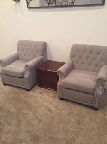 BRAND NEW NEVER BEEN USED ARM CHAIR - SET of 2