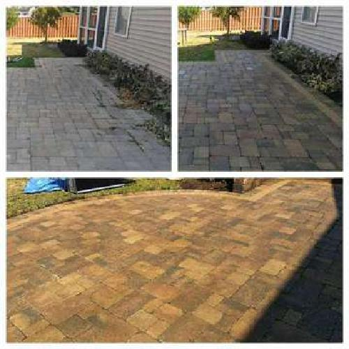brick paver restoration and pressure washing services