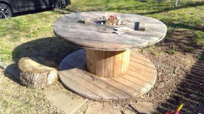 Cable Reel Table FREE