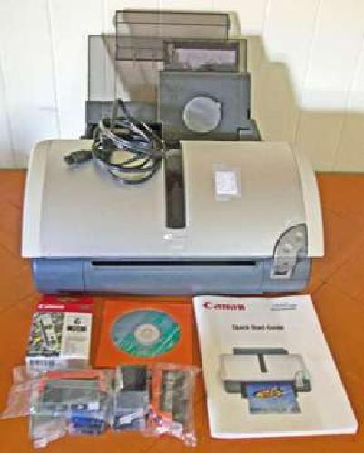 Canon i860 Printer, Attachments, Ink Supplies