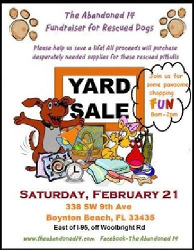Charity Yard Sale