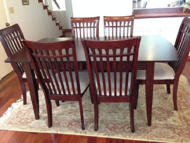 cherry wood dining room set for sale in los angeles california