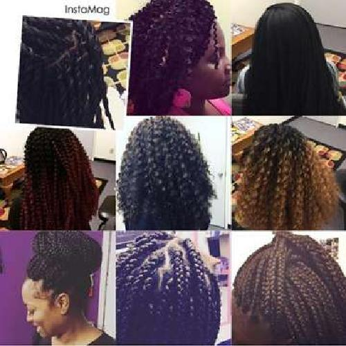 Crochet Braids & Many Other Protective Hairstyles by ALH HAIR DESIGNS
