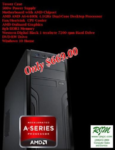 Custom Built Computer Systems