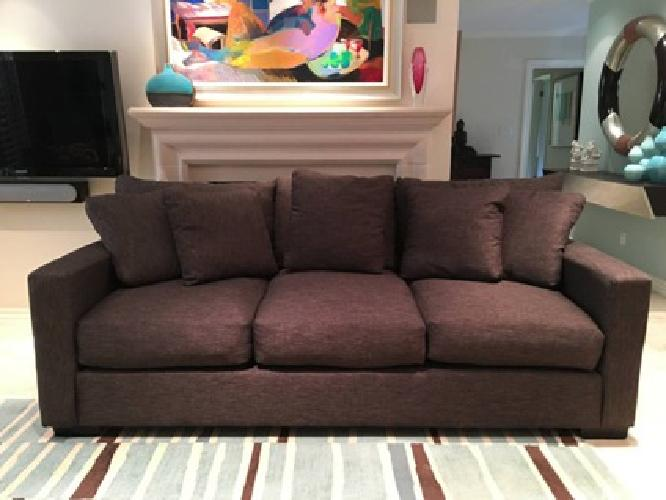 Dark Grey Sofa -