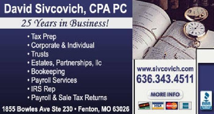 David Sivcovich CPA PC