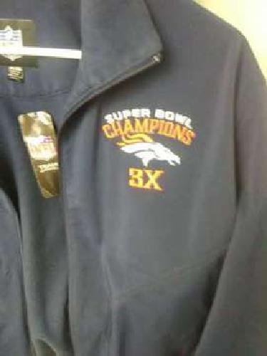 Denver Broncos Three time SUPER BOWL CHAMPIONSHIP l jacket