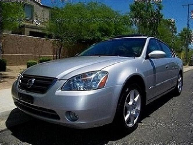 Drives Perfect Leather 2003 Nissan Altima 3.5L 6 CYL