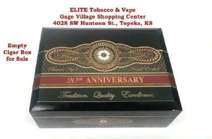 Empty Cigar Box PERDOMO 20th Anniversary Maduro for sale