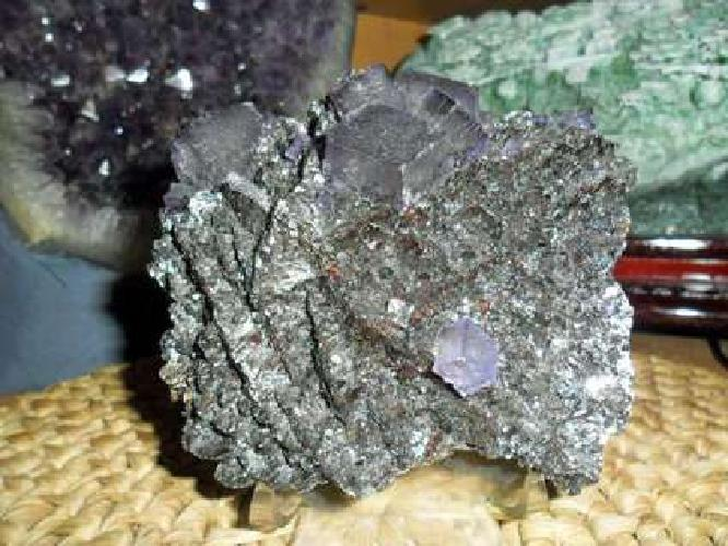 Exceptional Fluorite Crystal and Specularite