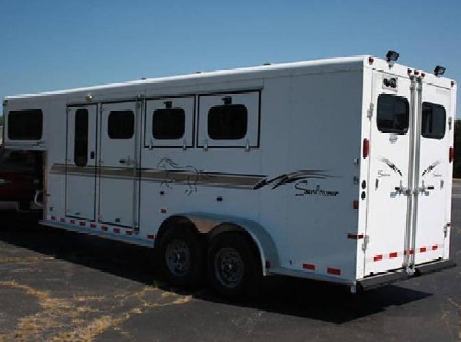 f1 2003 Sundowner GN 3 Horse Trailer 27Ft
