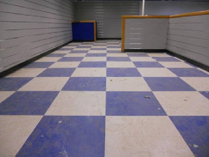 Floor refinishing, Buffing, waxing