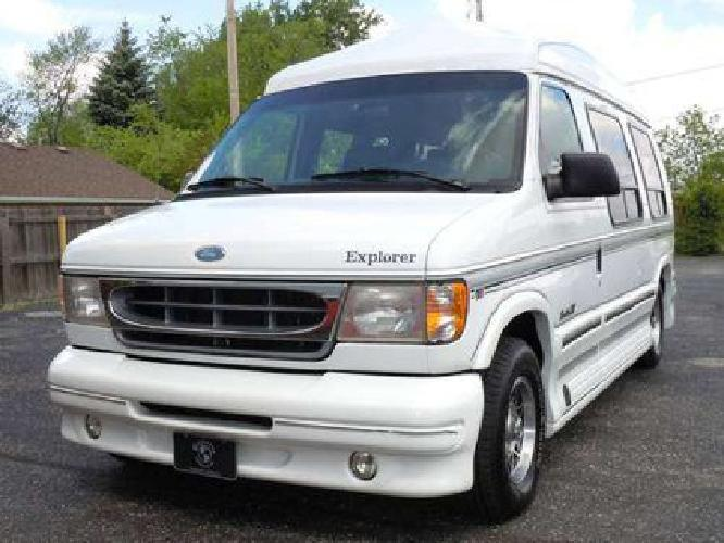 Ford E150 HIGH TOP Conversion Van With Low Miles 199 Month Financing