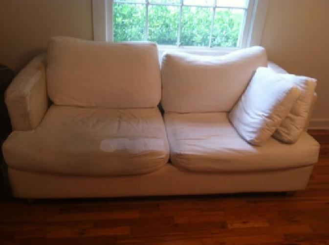 Free Free Off-White Sleeper Sofa